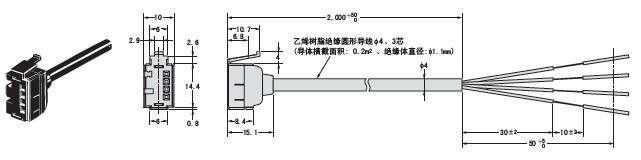 光纤传感器接线电路图